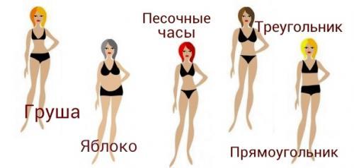 Типы фигуры и подбор одежды. Типы женских фигур и рекомендации по выбору и покупке идеальной одежды